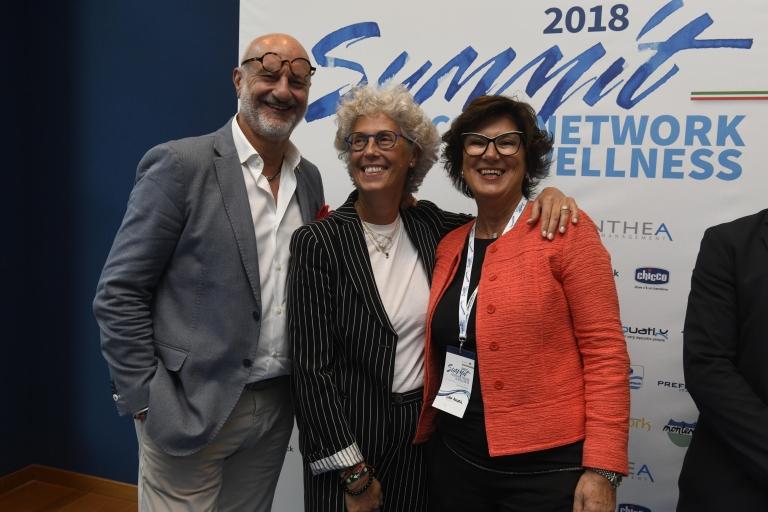 Roberto e Cinzia Pellegrini con Manuela Lovo
