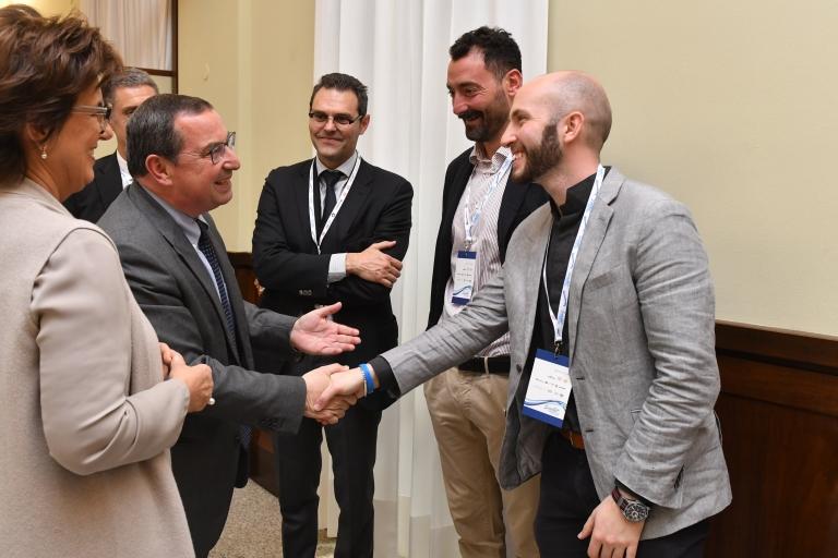 da sx _ M. Lovo - G. Castagna - S. De Alessi - M. Felugo - N. Campriani