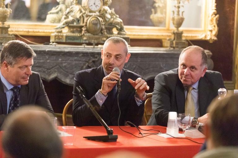 Fabio Gioia w Ezio Barbera e Sergio Grimaudo (Board Gymmy Consultants)